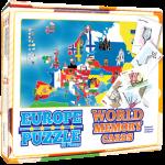 НТЦ Европа -сложувалка и мемориски карти (88 дела)